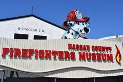 Musée de sapeurs-pompiers du comté de Nassau sur le Long Island à New York, Etats-Unis photos stock