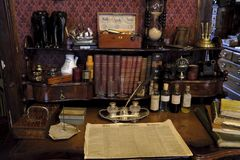 Musée de Sherlock Holmes photos libres de droits