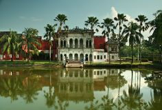 Musée de Sonargaon Photo stock