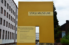 Musée de Stasi (Berlin) Photographie stock