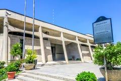 Musée 01 de tapis de Téhéran photo libre de droits