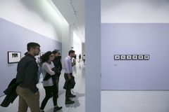 Musée de Torino - de l'Italie - d'Ettore Fico Photos stock