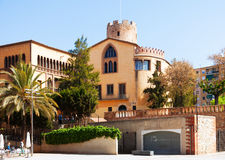 Musée de Torre Balldovina en Santa CLoloma Photos stock