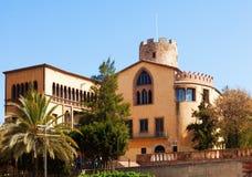 Musée de tour de Balldovina en Santa CLoloma Photo stock