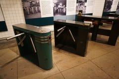 Musée 40 de transit de New York Images libres de droits