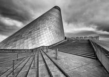 Musée de verre Image libre de droits