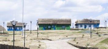 Musée de village de pêche Images libres de droits