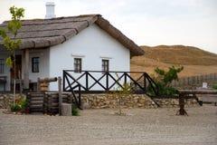 Musée de village ukrainien de Cosaque images stock