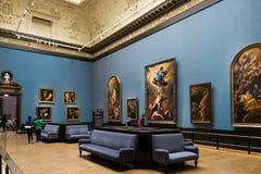 Musée de visite de Kunsthistorisches à Vienne, capital d'Austria's image libre de droits