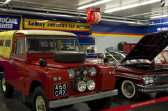 Musée de voiture du ` s de l'Amérique Photos stock