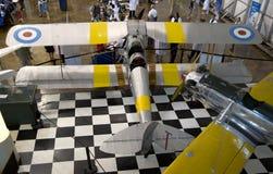 Musée de vol de frontières de visite de personnes Images libres de droits