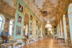 Musée de wiresidence de galerie dans la résidence, Munich, Allemagne images libres de droits