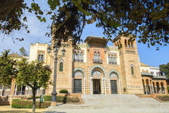 Musée des arts et des traditions de Séville (Espagne) image stock