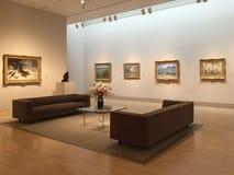 Musée des arts intérieur dans la ville photographie stock