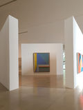 Musée des arts moderne intérieurs photo libre de droits