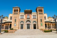Musée des arts populaires et des traditions, Séville photographie stock libre de droits