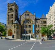 Musée des beaux-arts construisant, à Montréal photos libres de droits