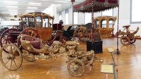 Musée des chariots impériaux à Vienne Images stock