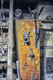 Musée des instruments médiévaux de torture Images libres de droits