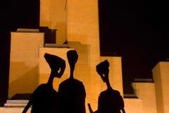 Musée des victimes de la deuxième guerre mondiale Images libres de droits