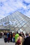 Musée du Λούβρο στοκ εικόνα