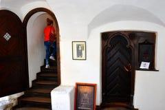 Musée du château de son, château de Dracula, Roumanie photographie stock libre de droits