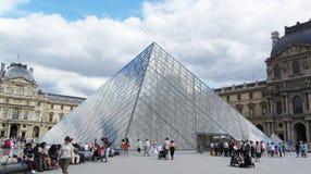 Musée du Louvre, Παρίσι στοκ φωτογραφία