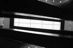 Musée du Louvre nach innen Stockbilder