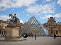 Musée du Louvre Royalty Free Stock Photography