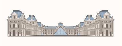Musée du Louvre Royalty Free Stock Photography