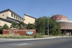 Musée du Mexique d'histoire naturelle Photo libre de droits