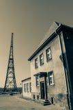 Musée du poste émetteur de Gliwice Images stock