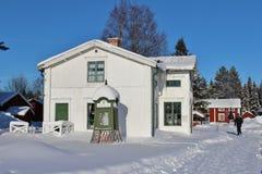 Musée en plein air Hägnan dans Gammelstad Photos stock