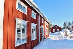 Musée en plein air Hägnan dans Gammelstad Photos libres de droits