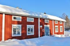 Musée en plein air Hägnan dans Gammelstad Image stock
