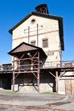 Musée en plein air, mine de charbon Mayrau, Vinarice, Kladno, repu tchèque Photo libre de droits