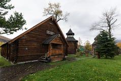 Musée ethnographique de Bystrinsky sur la péninsule de Kamchatka Image libre de droits