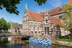 Musée Flehite dans la ville d'Amersfoort, Pays-Bas Photographie stock
