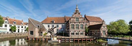 Musée Flehite dans la ville d'Amersfoort, Pays-Bas Photos stock