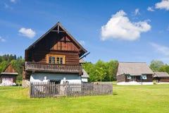 Musée folklorique d'air ouvert, Slovaquie photographie stock libre de droits