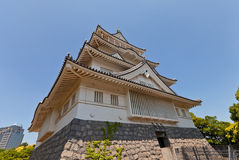 Musée folklorique de château de Chiba à Chiba, Japon Images libres de droits