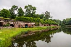 Musée - fort numéro cinq, Kaliningrad, Russie photos libres de droits