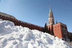Musée historique de place rouge de Moscou Photos libres de droits