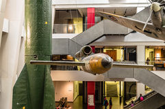 Musée impérial de guerre à Londres Photographie stock