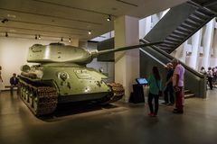 Musée impérial de guerre, Londres photographie stock libre de droits