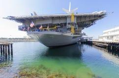 Musée intermédiaire d'USS, San Diego Photo stock