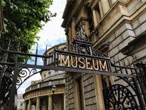 Musée irlandais de l'archéologie, Dublin photographie stock libre de droits
