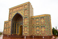 Musée, l'observatoire d'Ulugbek à Samarkand photos libres de droits