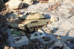 Musée Liban de guerre de Mlita image libre de droits