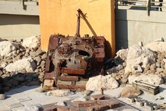 Musée Liban de guerre de Mlita photos stock